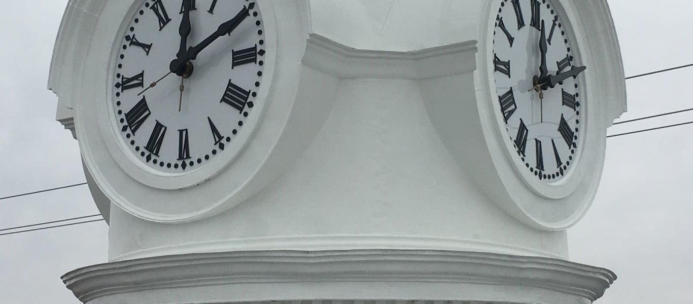 Plain City's Tower Clock